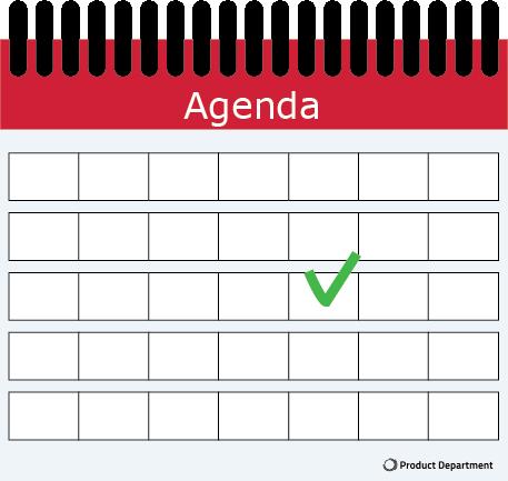 Agenda Product Management Events