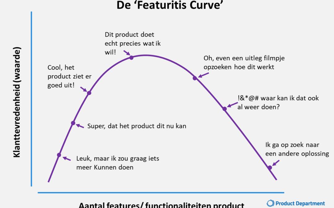 Less product is more en more smaakt naar meer