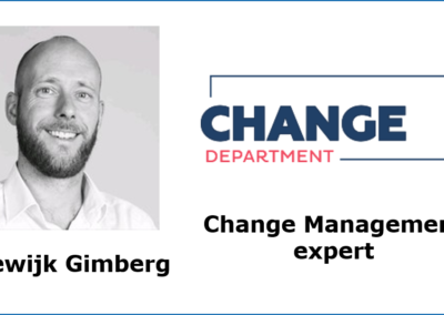 Change Management als onzichtbare kracht voor agile product teams