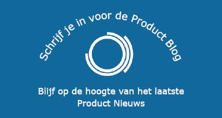 Symbool Product Department met tekst aanmelden Product Blog