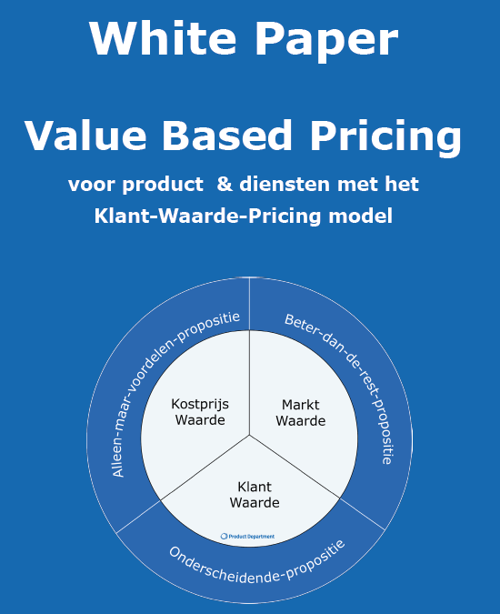 White Paper Value Based Pricing voor producten en diensten