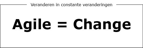 Agile = change sign
