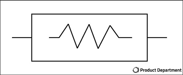 afbeelding weerstand teken