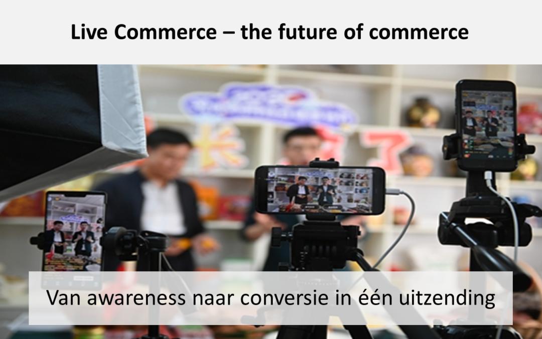 Product: Live Commerce – $7,5 miljard omzet in 30 minuten
